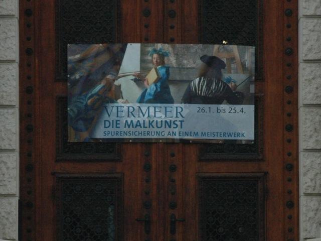 Vermeer KHM voordeur