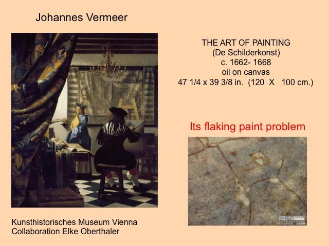 schilderij plus info Vermeer Presentatie